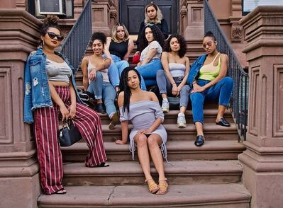 Ruben Natal-San Miguel, 'Gurls From The Hood Sitting On The Stoop (Landlords)', 2019