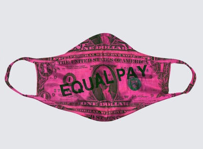 Michele Pred, 'Equal Pay Mask', 2020