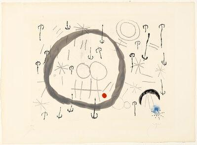 Joan Miró, 'Giboulées', 1960