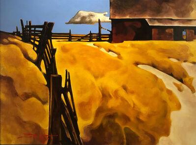Z.Z. Wei, 'Post & Rail Barn', 2019