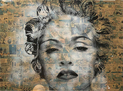 Mr. Brainwash, 'Marilyn Madonna', 2010