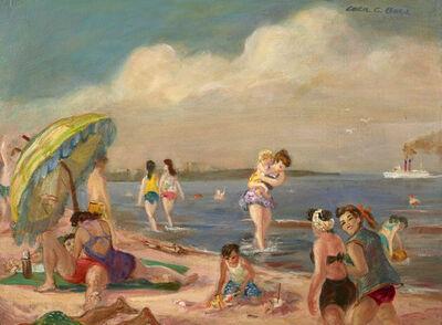 Cecil C. Bell, 'Beach Group', 1956