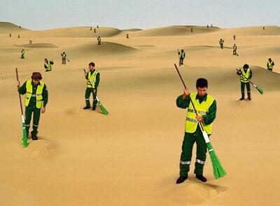 Su-Mei Tse 謝素梅, 'The Desert Sweeper', 2003