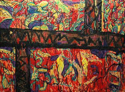 Pacita Abad, 'Sampaloc walls', 1985