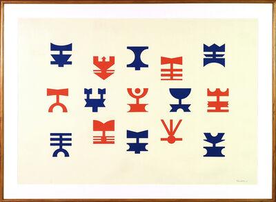 Rubem Valentim, 'Untitled', 1987