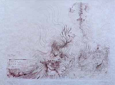 Hans Bellmer, 'Tuileries en Feu', 1970