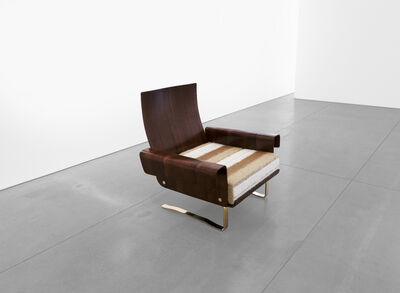 Not Attributed, 'Mid-Century Cantilever Lounge Chair', 20th Century