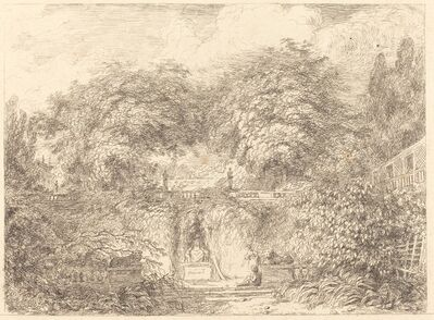 Jean-Honoré Fragonard, 'The Little Park (Le petit parc)', ca. 1763