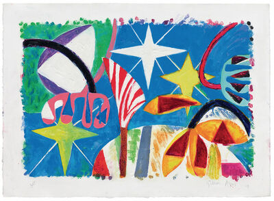 Gillian Ayres, 'Star Spangled', 2009-2010