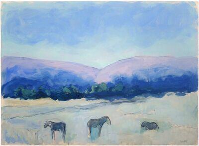 Theodore Waddell, 'Reinheimer's Horses Dr. #2'
