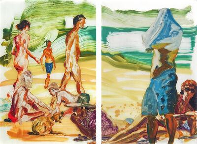 Eric Fischl, 'Untitled Diptych', 2013