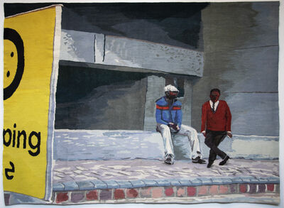 Sam Nhlengethwa, 'The conversation', 2012