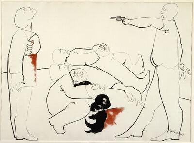 Jacob Lawrence, 'Struggle III - Assassination', 1965
