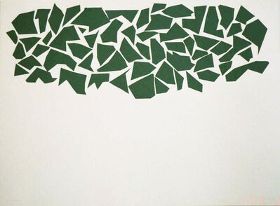 Robert Goodnough, 'Big Green', 1968