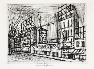 Bernard Buffet, 'Le Moulin Rouge', 1970