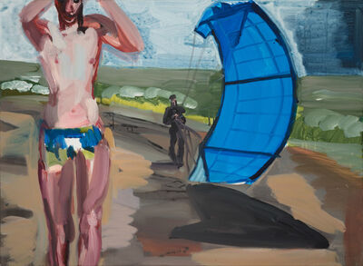 Rainer Fetting, 'Boy mit Kite', 2018