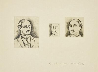 Richard Hamilton, 'Three Studies of Bloom', 1949/73