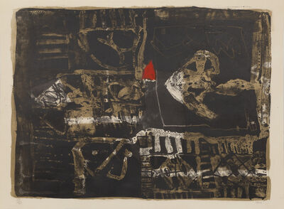 Antoni Clavé, 'Poisson Au Triangle Rouge', 1964