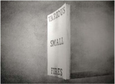 Ed Ruscha, 'Various Small Fires (from the Book Covers series)', 1970