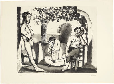 Pablo Picasso, 'Bacchanale', 1963