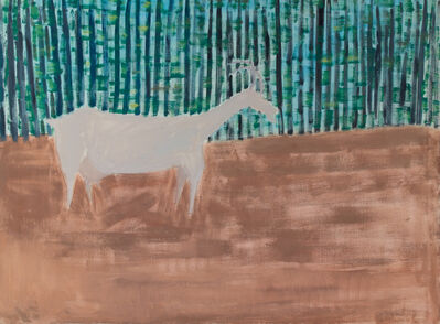 Milton Avery, 'Forest Goat', 1957