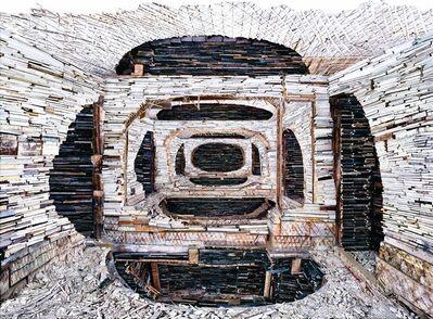 Marjan Teeuwen, 'Destroyed House Krasnoyarsk 1', 2010