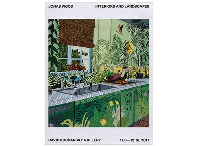 Jonas Wood, 'Interiors & Landscapes Exhibition Poster', 2017