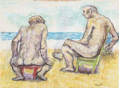 Fausto Pirandello, 'Bagnanti seduti'