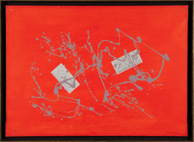 Giulio Turcato, 'ARCIPELAGO ARANCIO', 1967