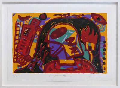 A.R. Penck, 'Feuerwehr', 1993