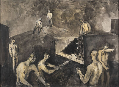 Keith Vaughan, 'Coal Fatigue', 1942