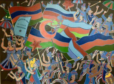 """Carlos Páez Vilaró, '""""La clásica candombera, candombe""""', 1989"""