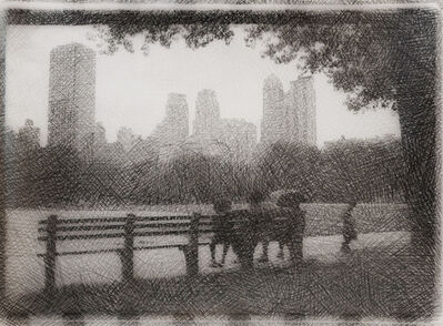 Glenn Goldstein, 'Central Park Infra-Red II', 2007