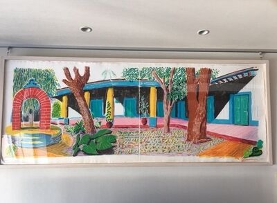 David Hockney, 'Hotel Acatlán: Second day, from: The Moving Focus Series', 1985