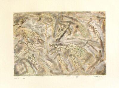 Francisco Toledo, 'Alligators III', 1989