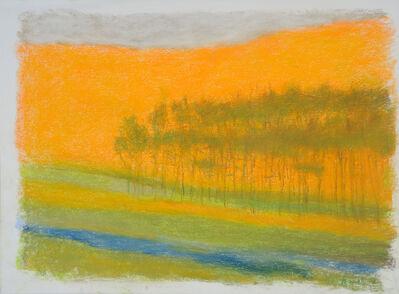 Wolf Kahn, 'Wow! Orange', 2016