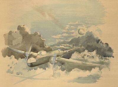 Paul Nash, 'Moonlight Voyage', 1940