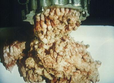 Zhang Peili, '30% Fat, 70% Meat', 1997