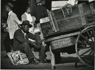 Gordon Parks, 'Street Scene, Harlem, New York', 1952