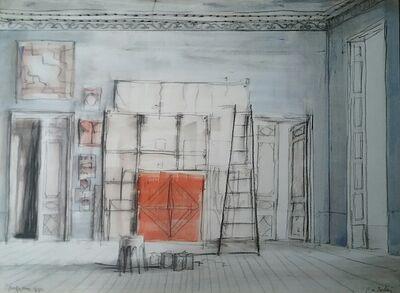 Pierre Bergian, 'L'atelier', 2018