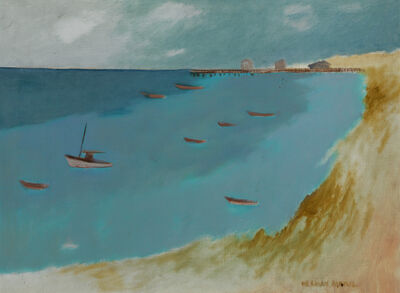Herman Maril, 'Provincetown Bay', 1984