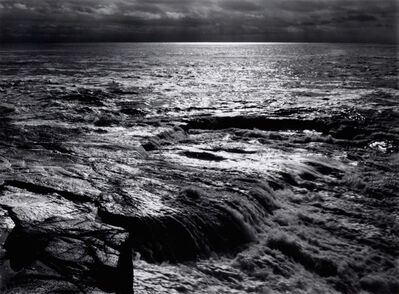 Ansel Adams, 'The Atlantic, Schoodic Point, Acadia National Park, Maine, 1949', 1949