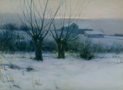 Charles Warren Eaton, 'Winter Orchard', 1891