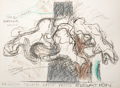 Lynda Benglis, 'North, South, East, West, Elevation', 1979