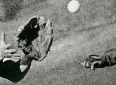 John Baldessari, ' Hands & Feet: Hands, Baseball & Glove', 2017