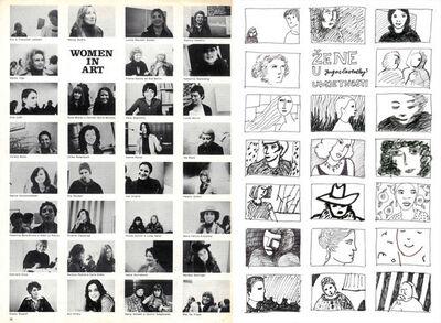 Sanja Iveković, 'Women in Art - Women in Yugoslavian Art', 1975