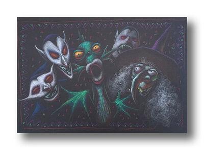 Tim Burton, 'Vampires All Around', ca. c. Early 1990s