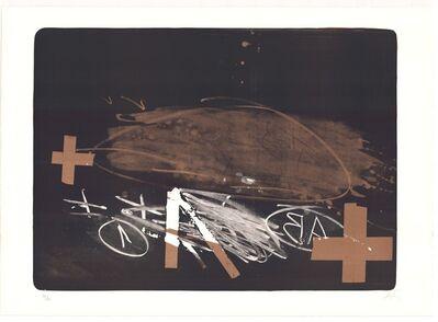 Antoni Tàpies, 'A efface', 1970-1980