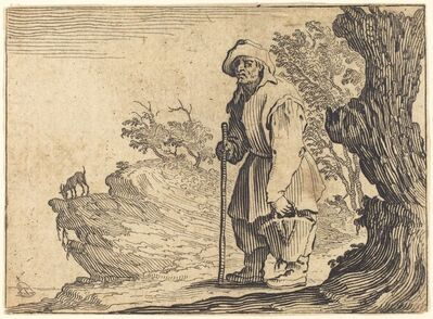 Jacques Callot, 'Peasant with Sack', ca. 1622