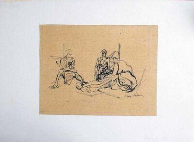 Jacques Villon, 'Avant le Bain', 1926